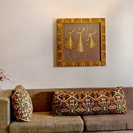 Classical Art: The flowing art work captures the essence of classics at Concord Casablanca Serviced Apartment