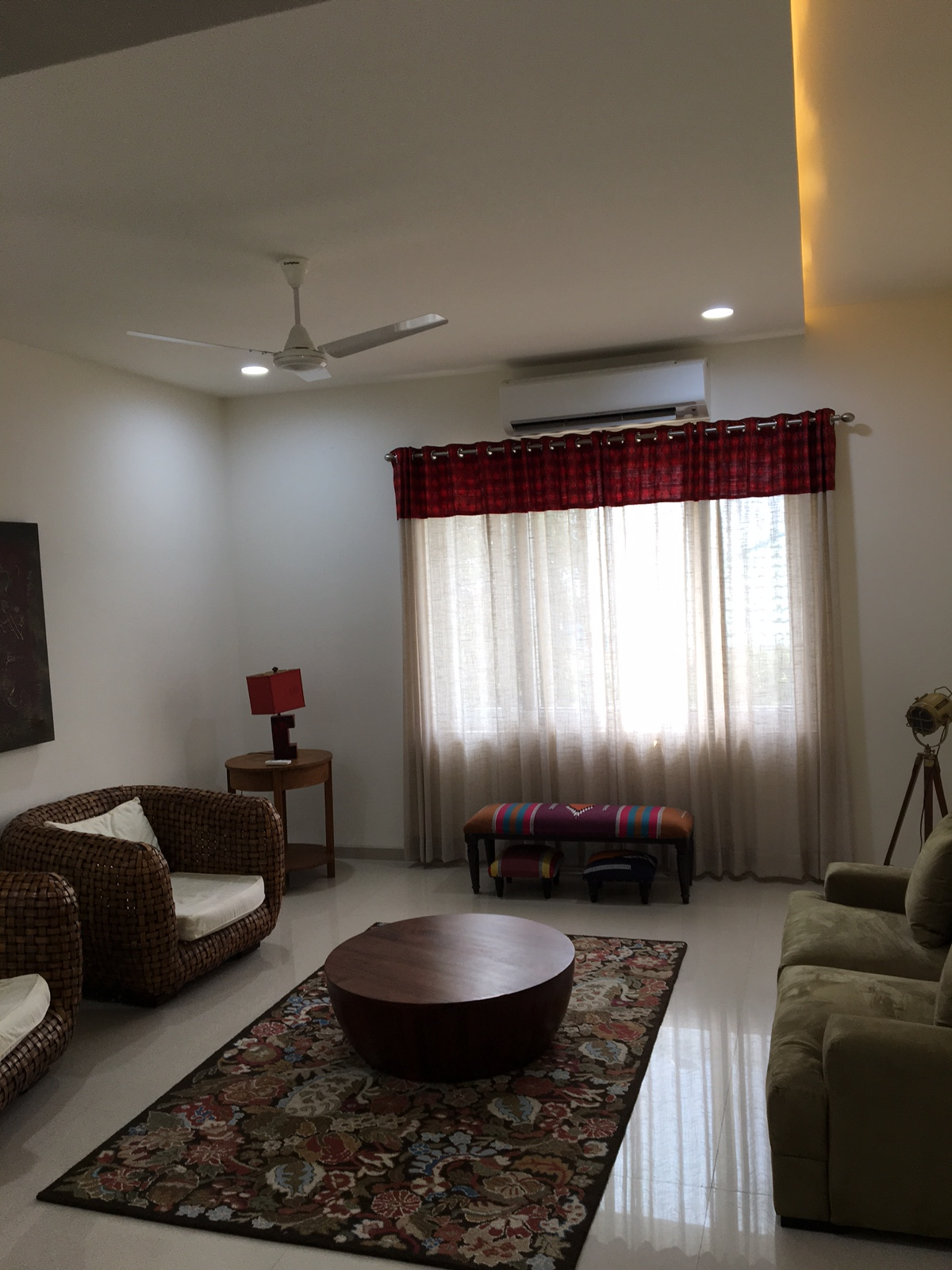 Waiting Room: Plush waiting room with fancy sofa-sets at Concord Nest Serviced Appartments