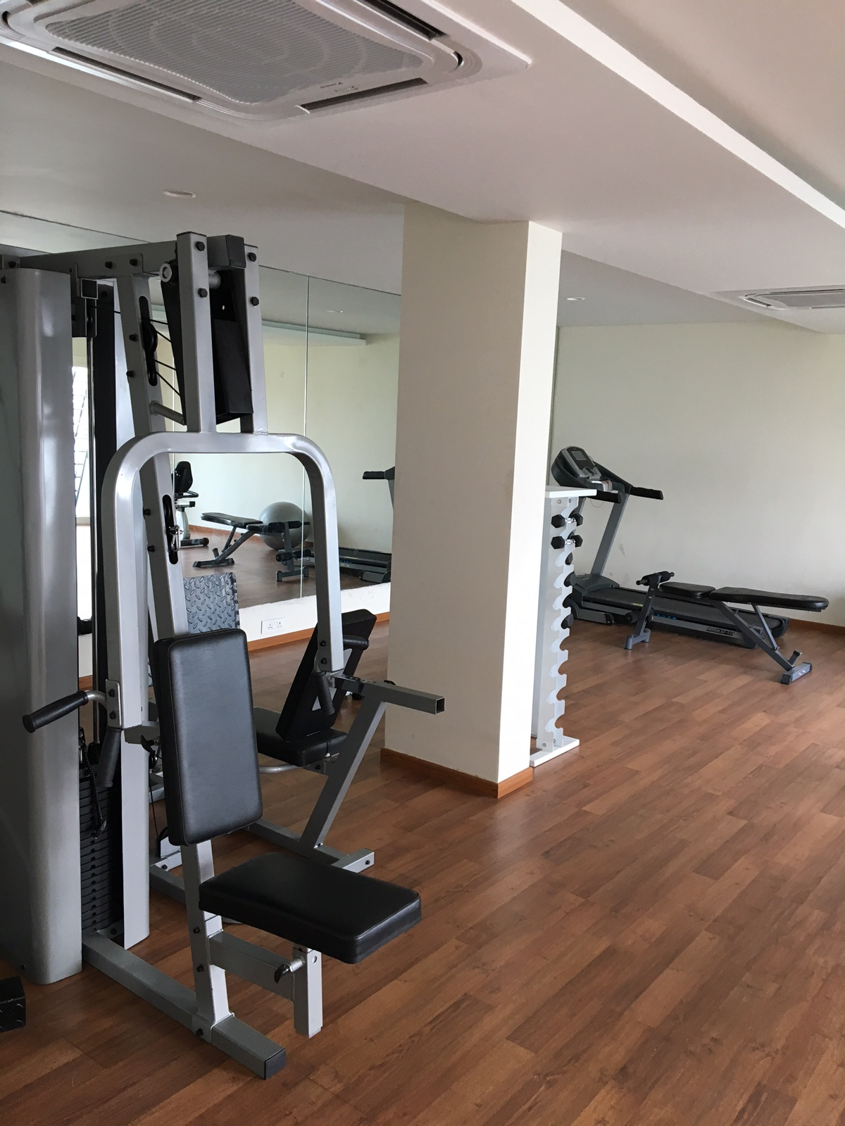 Gym: Fully functional gym to stay fit at Concord Gachibowli Nest Apartment